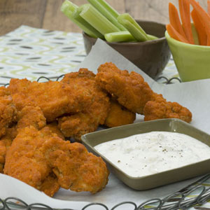 chicken fingers with dip